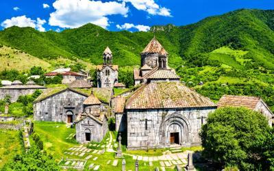 klášter Haghpat    Arménie