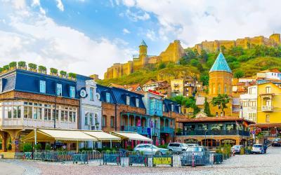 Tbilisi, staré město   Gruzie