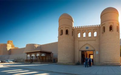 UNESCO | Chiva - úžasně zachovalé středověké město, odkud pochází nejslavnější lékař všech dob Avicenna | Uzbekistán