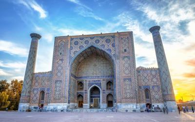 UNESCO | Ulugh Beg Madrasah, náměstí Registan, Samarkand | Uzbekistán