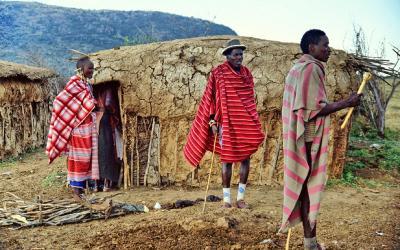 Masajská vesnice | Keňa