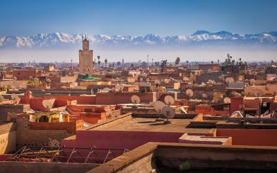 Marrakesh s pohoří Atlas | Maroko