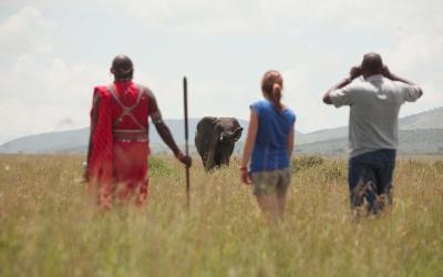 na stopě s Masajem | Keňa