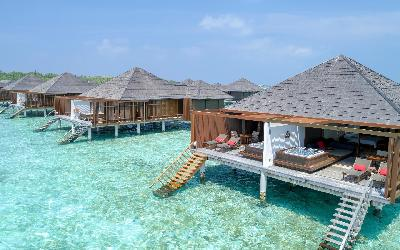 Water Villas With Whirpool