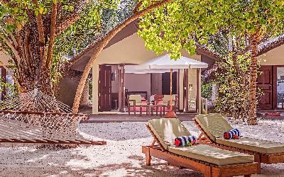 Deluxe Beach Villa Exterior