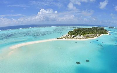 Sun Island Aerial View
