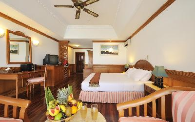 Two Bedroom Overwater Suite Interior