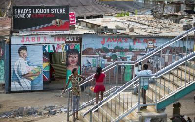 Černé předměstí Johannesburgu   Soweto