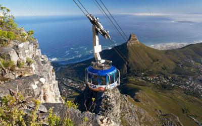 Lanovka na Stolovou horu   Cape Town
