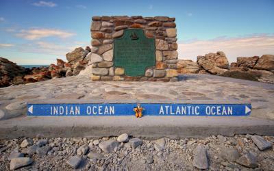 Setkání dvou oceánů   Střelkový mys