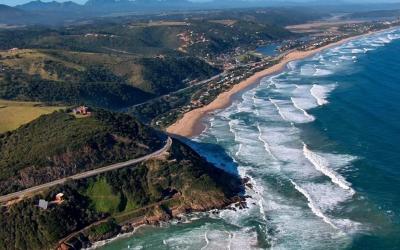 Śiroké pláže Wilderness   Garden Route